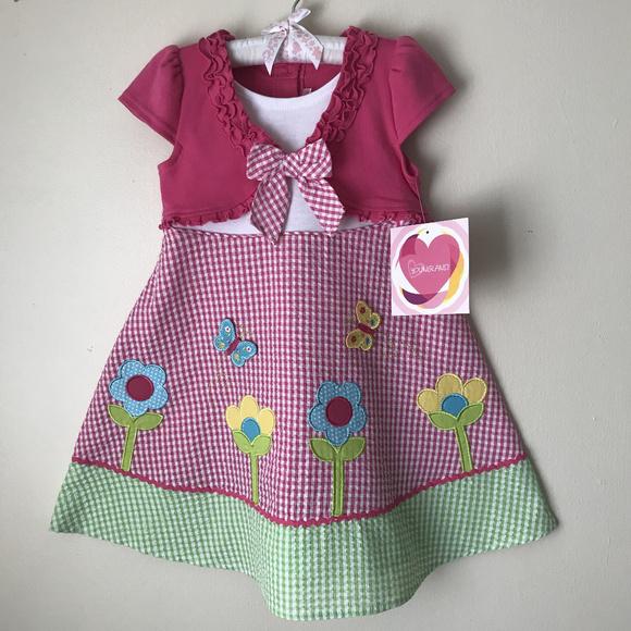 23a7ffef4119 Youngland Dresses | Size 4 5 6 6x Summer Dress Girls Pink | Poshmark